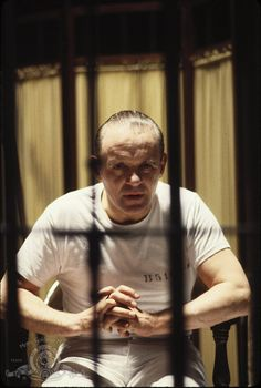 "Anthony Hopkins in ""The Silence of the Lambs"" (1991)"