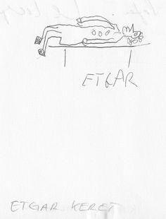 Etgar Keret  im Gästebuch vom Blauen Sofa Sofas, Math Equations, Inspired, Book, Inspiration, Couches, Biblical Inspiration, Settees, Books