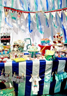 Beach Themed Baby Shower or can alter to birthday party