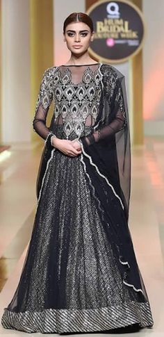 Yasmeen by Akram Pakistani Bridal Dresses Displayed newest official at Qmobile Sound Bridal fashion Week 2017 in Karachi.Yasmeen by Akram selection Latest Bridal Dresses, Pakistani Bridal Dresses, Wedding Dresses, Bridal Collection, Brides, Clothes, Tops, Style, Fashion