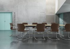 Brunner ray - slender, flowing, universal. A cantilever chair, made as if all of a piece, transmitting its dynamics to any room – that's ray, no doubt about it http://www.brunner-group.com/en/products/products-alphabetically/ray.html?sword_list[]=ray&no_cache=1