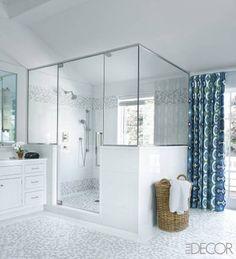 Best Bathrooms 2014 - Master Bath Design 2014 - ELLE DECOR