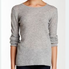 PRICE DROP!!👇🎉Philosophy Grey Cashmere Sweater New with tags: Comes wrapped in original packaging. •100% cashmere sweater by Philosophy. Crew neck style, fits true to size. Wear w/ leather pants jeans or sweatpants. I love these tops as I can go to the club or fine dining put on some jewels and I still feel like I'm in a T-shirt & I'm warm!! •Cashmere sweater. •A staple piece - Long or rolled sleeves - Rolled hem - Approx. 25in •2 new in stock left!😀 •2 gently used @$65. •Please specify…