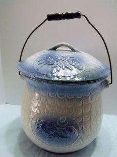 Other Antique Decorative Arts Cheap Price Rare Antique Cobalt Blue Stoneware Lion Head Soap Dish