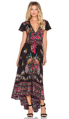 Shop for Spell & The Gypsy Collective Hotel Paradiso Maxi Dress in Jet at REVOLVE. Free 2-3 day shipping and returns, 30 day price match guarantee.