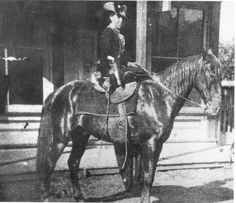 Belle Starr was one of the most famous outlaws of the Wild West. Her family assisted the Jessy James gang hide in her family's farm. When her husband shot a man they were forced to flee and began robbing banks and counterfeiting. She was known for wearing mens clothing and always flaunting her pistols. She was killed with a shot to the back while riding her horse. She became known as the Bandit Queen.
