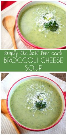 The best low carb broccoli cheese soup recipe