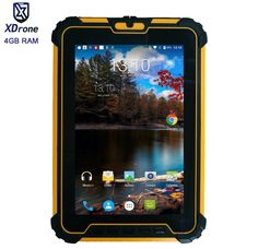 "Original Kcosit Waterproof Tablet Shockproof PC Android 7.1 4GB RAM 64GB ROM MSM8953 Octa Core 8"" 13.0MP UHF RFID HDMI 4G GPS #Affiliate Pc Android, 4gb Ram, Core, The Originals, Stuff To Buy, Link, Check"