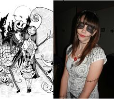 "I'm jack and sally daughter ;) from ""tim burton's the nightmare before christmas"""