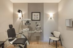 pernuladesign.com, optometry office design, exam room