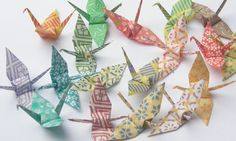 Beautiful Origami Cranes