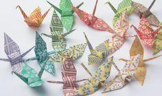 Beautiful Origami Cranes