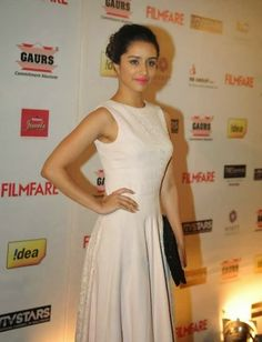 Shraddha Kapoor Snapped in Filmfare and star guilt Awards