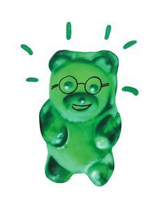 """WOW"" 40x50 print on #canvas #gummybears #art #artforall #sabrinarocca #aaart #emoji #decor #interiordesign #decoration #green http://www.aaart.eu/shop/artchandising/green-gnummy/"