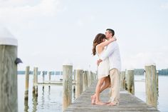 Romantic Nautical Engagement Pictures - Eastern Shore & Annapolis Fine Art Photographer: Natalie Franke Photography