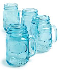 Yorkshire Mason Jar Mugs