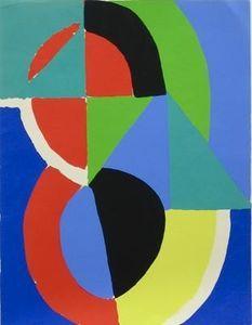 Composition (2) - (Sonia Delaunay (Sarah Ilinitchna Stern))
