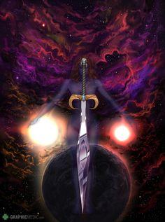 The Saga of Lyn cover illustration Saga, Sci Fi, Darth Vader, Movie Posters, Movies, Fictional Characters, Illustrations, Films, Science Fiction