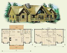 Log house kit