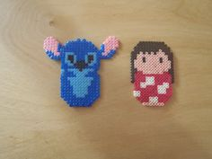 Lilo and Stitch hama beads by nanafieltro