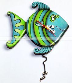 Часы настенные Рыба (31300)