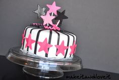 Make-a-Cake Series: Estelle Part 1—Cover a cake with fondant | Make It and Love It