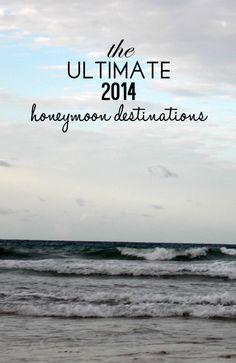 The Top 2014 Honeymoon Destinations