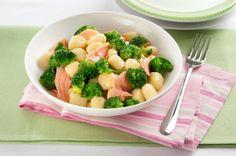 Gnocchi tonno e broccoli
