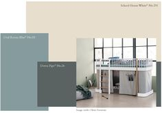 New Paint color 2019 from Farrow & Ball, School House White Farrow Ball, Dix Blue Farrow And Ball, Farrow And Ball Paint, Farrow And Ball Living Room, Farrow And Ball Kitchen, Wall Colors, House Colors, Paint Colours, Hallway Colours