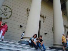 En la catedral de Buenos Aires.