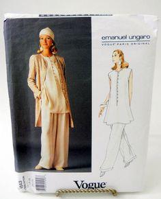 Vogue Emanuel Ungaro Uncut Sewing Pattern 1543 by glassconfusion