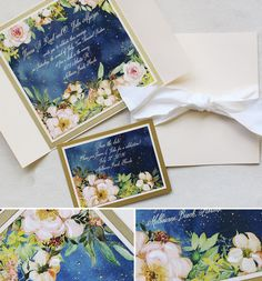 Midsummer night's dream stationery #watercolorweddinginvite #momentaldesigns #midsummernightswedding #weddingideas