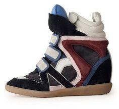 Le #sneakers con la zeppa di Isabel #Marant
