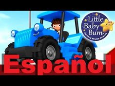 La canción del tractor   Canciones infantiles ghhj  LittleBabyBum - YouTube Little Babies, Tractors, Youtube, Monster Trucks, Nursery, Baby, Sewing, Health, Nursery Rhymes
