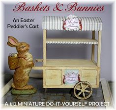 ------------------------------------------------------------------------------ So, here we have it, the completed Easter Cart with ...