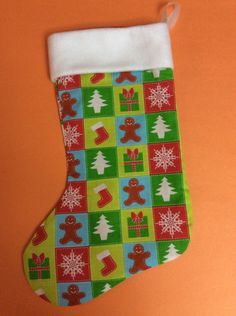 A personal favorite from my Etsy shop https://www.etsy.com/listing/253803755/handmade-christmas-stocking-fun