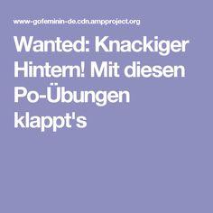 Wanted: Knackiger Hintern! Mit diesen Po-Übungen klappt's