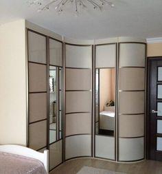 угловой шкаф купе в коридоре дизайн фото шкаф купе Wardrobe