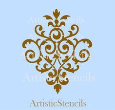 damask stencil