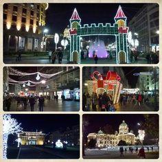 Belgrade New Year decoration 2016