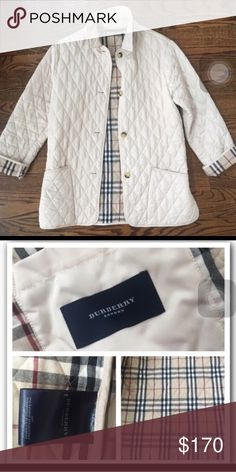 Burberry Quilted Jacket. Great condition. Entirely to big for me. Purchased  from another 047e0ee6ccbd7