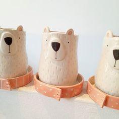70 Adorable Stoneware Ceramic Bowls – Art Modern – In-house Factory Pottery Houses, Ceramic Houses, Ceramic Planters, Ceramic Clay, Porcelain Ceramics, Ceramic Pottery, White Ceramics, Potters Clay, Kids Clay