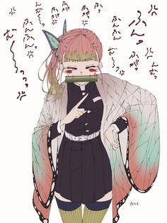 Anime Angel, Anime Demon, Manga Anime, Anime Art, Demon Slayer, Slayer Anime, Kohaku, Ninja, Anime Girl Drawings