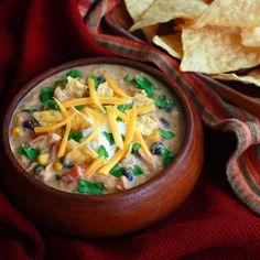 Creamy Chicken Tortilla Soup.  daringgourmet.com