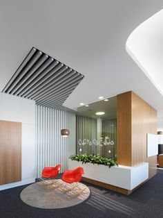 office snapshots lobbies | ... Collaborative and Teamwork-based Walldorf Office - Office Snapshots