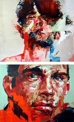 Powerful Paintings by London based Canadian artists Andrew Salgado