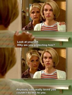 Love how buffy addressed realistic issues like abuse Buffy Summers, Nerd Love, Sarah Michelle Gellar, Joss Whedon, Alyson Hannigan, Really Love You, Buffy The Vampire Slayer, Stories For Kids, Hush Hush