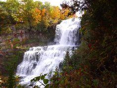 Fall at Chittenango Falls, New York