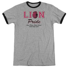 """Checkout our #LicensedGear products FREE SHIPPING + 10% OFF Coupon Code """"Official"""" Friday Night Lights / Lions Pride - Adult Ringer - Heather - Heather - Friday Night Lights / Lions Pride - Adult Ringer - Heather - Heather - Price: $34.99. Buy now at https://officiallylicensedgear.com/friday-night-lights-lions-pride-adult-ringer-heather-heather"""