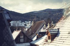 winter roof tops....